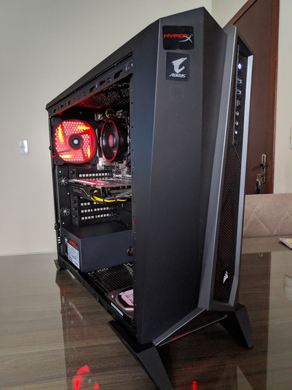Pc Gamer - Ryzen - 2200g - Rx 570 - Ssd 120 Gb + Hd 500 Gb