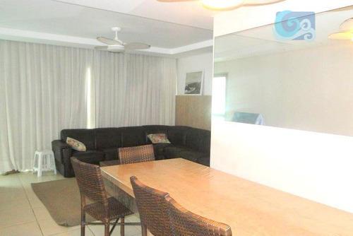 Imagem 1 de 16 de Apartamento À Venda, Praia Das Pitangueiras, Guarujá. - Ap4296