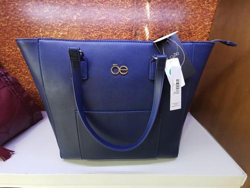 Imagen 1 de 1 de Bolso Marca Cloe Casual Color Azul Marino