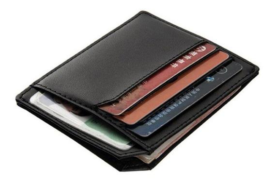 Carteira Pequena Porta Cartões Dinheiro E Cnh Slim