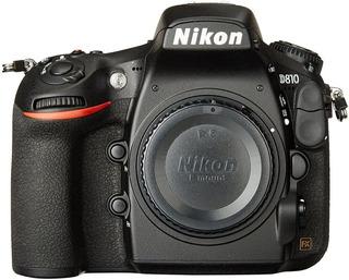Nikon D810 Dslr Full Frame 25 Mil Disparos+bateria+carg