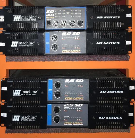 Amplificador Machine Sd 2.5 - 12 X Sem Juros Envio Gratis
