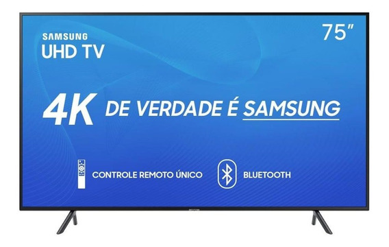 Smart Tv Led 75 Polegadas Sansung 4k Wifi Usb Hdmi