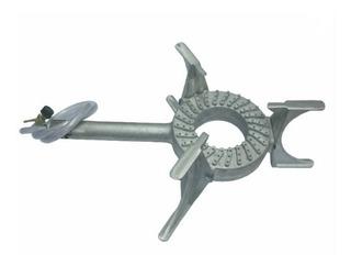 Fogareiro Aluminio Fundido De Mesa + Fita Asfaltica 30cmx10m