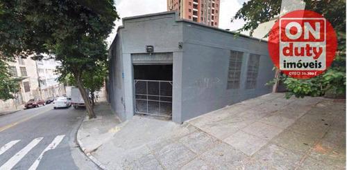 Galpão À Venda, 312 M² Por R$ 1.450.000,00 - Cambuci - São Paulo/sp - Ga0088