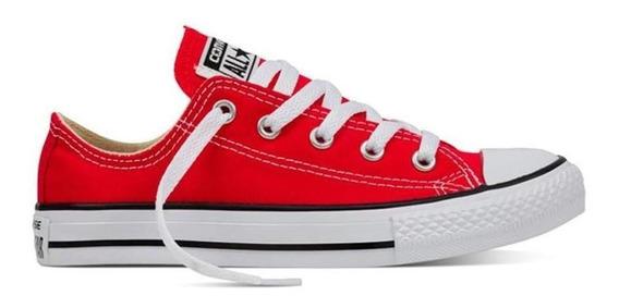 Tenis Converse Choclo Rojo Niño 3j236