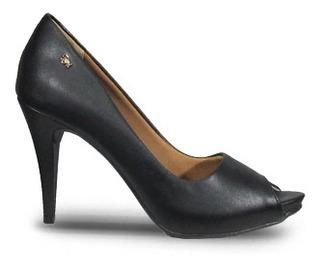 Limoges 1519 Zapato Puntera Abierta Plataforma Mujer