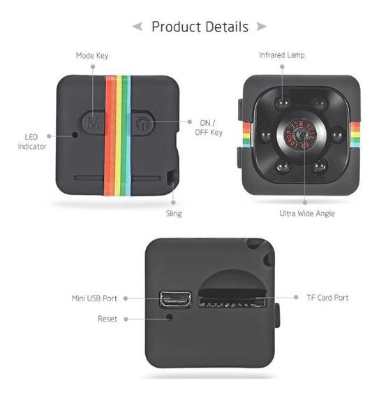 Micro Câmera Vigiar Monitorar Babá Cuidador Idoso + Brinde