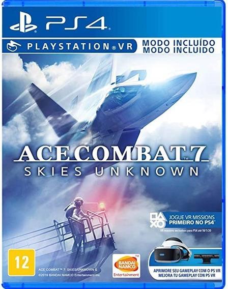 Ace Combat 7 Ps4 Iii Midia Física Português