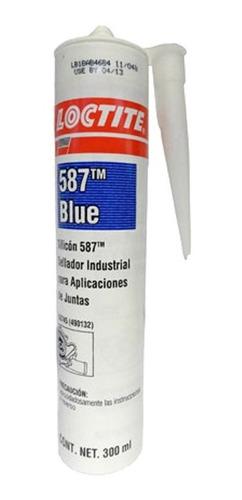 Imagen 1 de 4 de Formador Loctite 587 Blue-azul Rtv 490132 300ml 15202520
