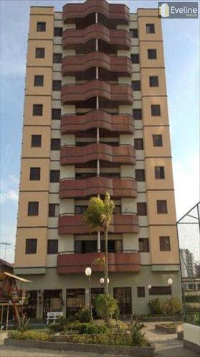 Imagem 1 de 1 de Apartamento Com 3 Dorms, Vila Martins, Mogi Das Cruzes - R$ 540.000,00, 105m² - Codigo: 214 - V214