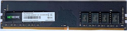 Memória 8gb 2400 Ddr4 Netcore Para Computador Pc Desktop