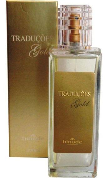 Perfume Traduções Gold Hinode 100ml - Todas Fragrâncias