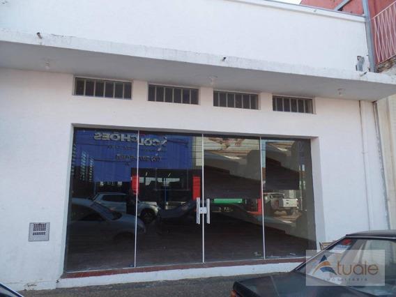 Salão Para Alugar, 220 M² - Centro - Sumaré/sp - Sl0362