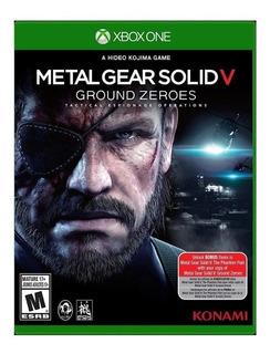 Metal Gear Solid V Ground Zeroes Xbox One Nuevo