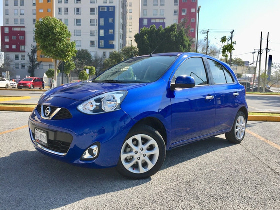 Nissan March Advance Manual Abs Airbag Unico Dueño Nuevo