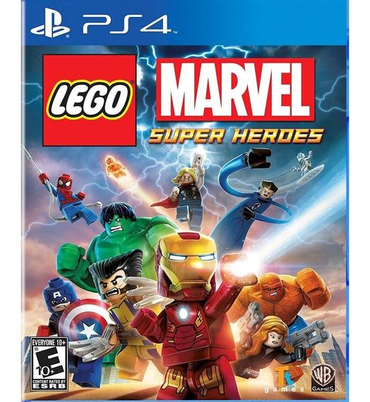Lego Marvel Super Heroes Ps4 Mídia Física Lacrado