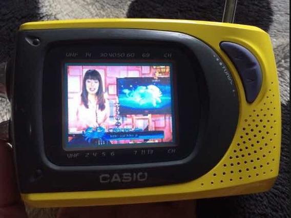 Televisor Portátil A Color Lcd Casio Sy 20