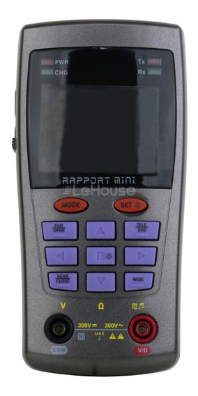 Testador De Cftv Gravo Multifuncional Rapport Mini Portátil