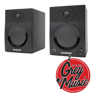 Monitor De Estudio Pc Bluetooth Samson Mbt4 4 Pulgadas Audio