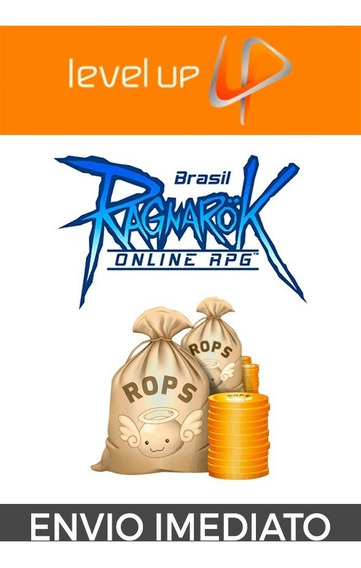 Ragnarok - Level Up - 23.000 Rops - Envio Rapido!
