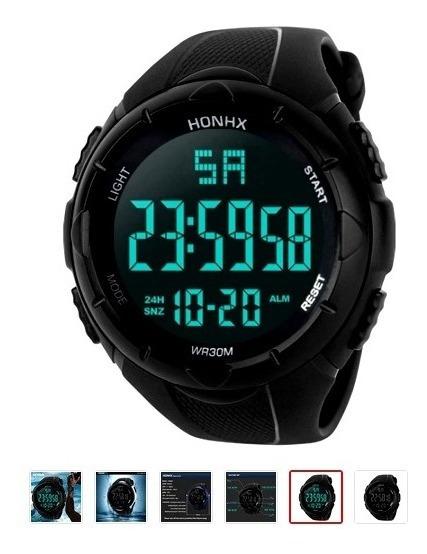 Reloj Deportivo Hombre Pulsera Gym Impermeable Digital Sport