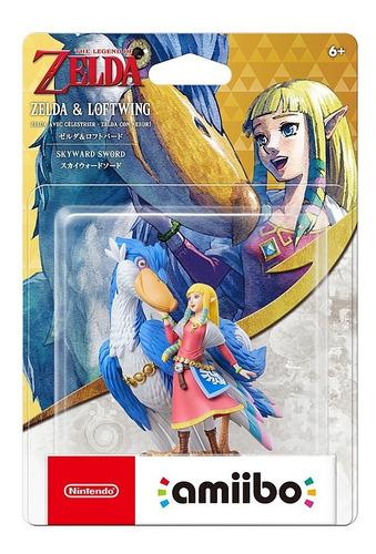 Amiibo Zelda & Loftwing - The Legend Of Zelda Skyward Sword