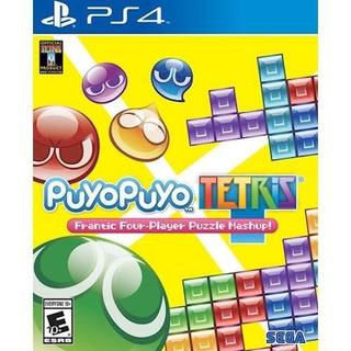 Puyo Puyo Tetris Ps4