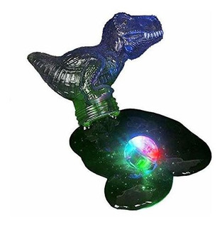 Kicko Dinosaur Light Up Slime - Paquete De 6 Masillas Moldea