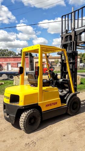 Autoel Hyster Diesel Desplazado T/triple