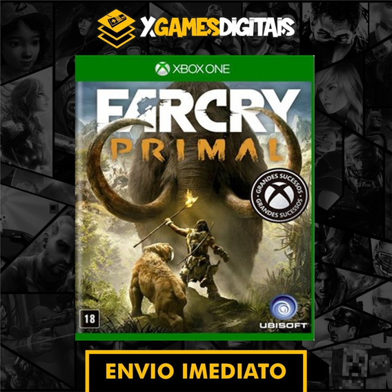 Far Cry Primal Xbox One Midia Digital + 1 Jogo Brinde