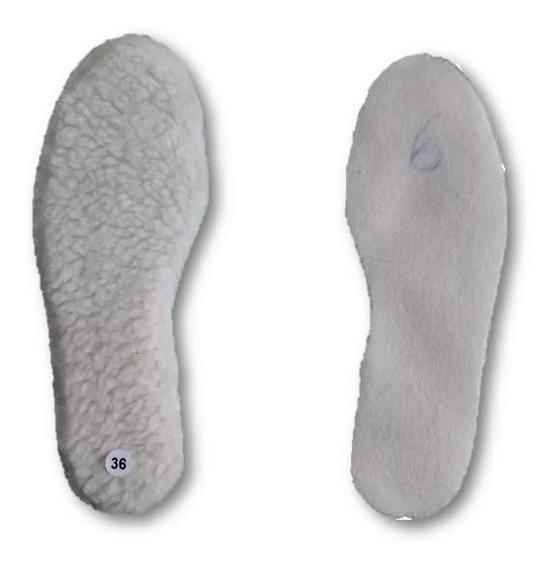 Palmilha De Lã Para Calçados Em Geral
