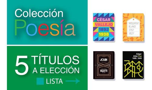 Pack 5 Libros Colección Poesía - Antología - Batiscafo