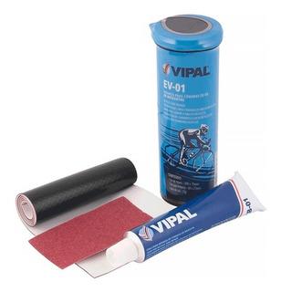 Kit Remendo Bike Vipal Ev-01 Reparo Pneu Câmara De Ar 12x