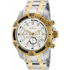 Relógio Invicta Pro Diver 24859 - Folhado Ouro 18k Original