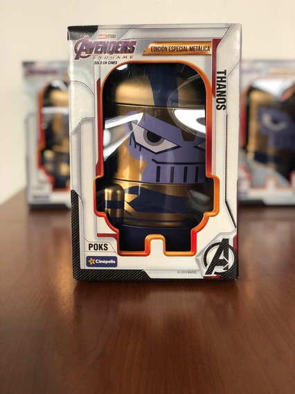 Avengers Endgame Pock Metálico Thanos Cinepolis