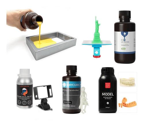 Crie Suas Receita De Resina Para Impressoras 3d Led