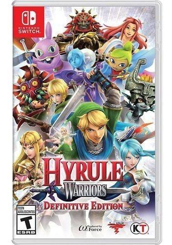 Jogo Hyrule Warrios Definitive Edition Switch Pronta Entrega