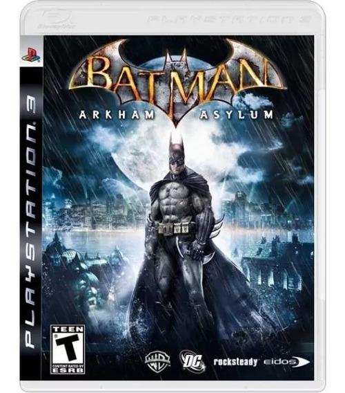 Batman Arkham Asylum - Mídia Física / Ps3