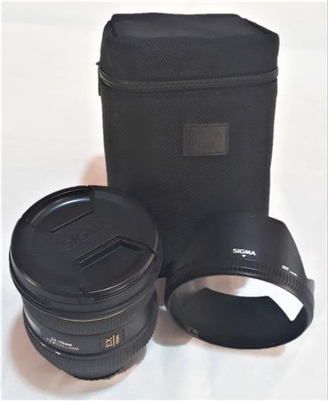 Lente Sigma 24-70mm Canon Full Frame