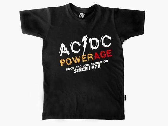 Remera Ac Dc Powerage Mujer-hombre Vitalogy Web