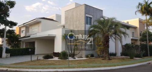 Casa À Venda, 238 M² Por R$ 1.700.000,00 - Condomínio Esplendor - Indaiatuba/sp - Ca0134