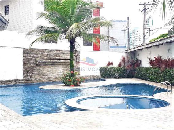 Triplex 4 Dormitórios Canto Do Forte Praia Grande - V2521