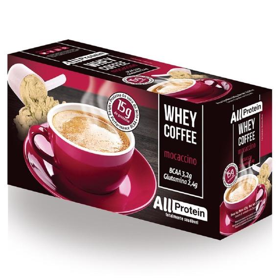 Whey Coffee Mocaccino 25 Un De 25g - 625g - All Protein