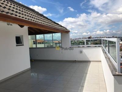 Cobertura Com 3 Dormitórios À Venda, 174 M² Por R$ 750.000 - Nova Gerty - São Caetano Do Sul/sp - Co0161