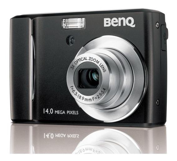 Camara Digital Benq 14 Megapixel 20 Verde$ Con Accesorios