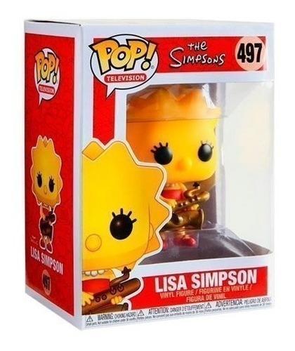 Funko Pop 497 Lisa Simpson -  The Simpsons