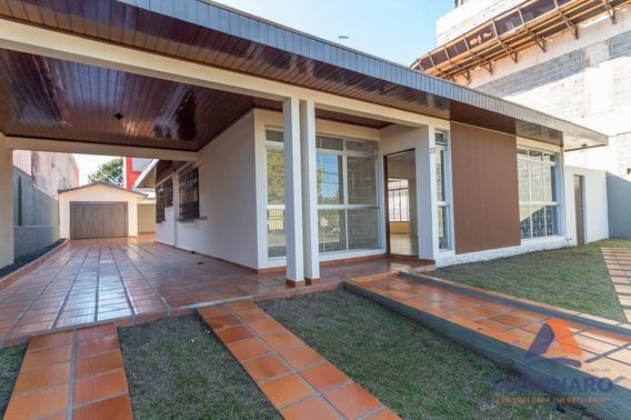Casa Comercial Para Locação, Jardim Carvalho, Ponta Grossa. - Ca0174