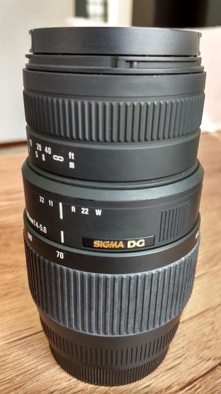Lente Sigma 70-300 Para Canon