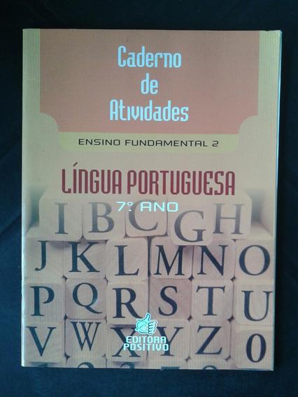 Livro Caderno De Atividades Língua Portuguesa 7° Ano